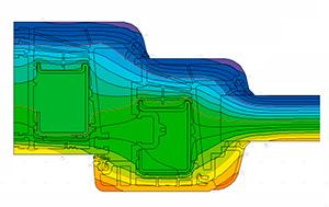 Termografía perfil PVC OnVentanas