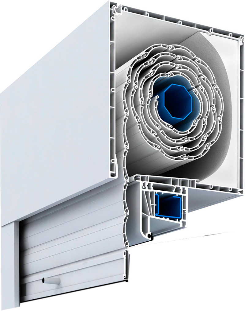 Cajon persiana para ventanas pvc ahorra energ a - Distribuidores kommerling ...