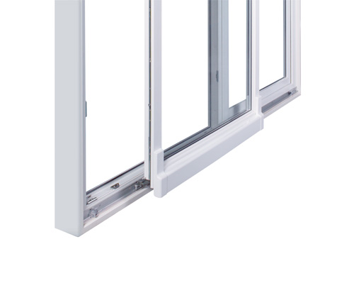 Puerta oscilo paralela onventanas for Puerta oscilobatiente