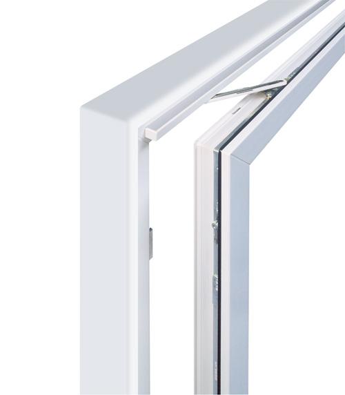 Puerta oscilo paralela carril superior onventanas for Puerta oscilobatiente