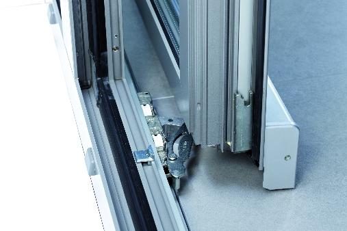 Puerta oscilo paralela onventanas - Carril para puerta corredera ...