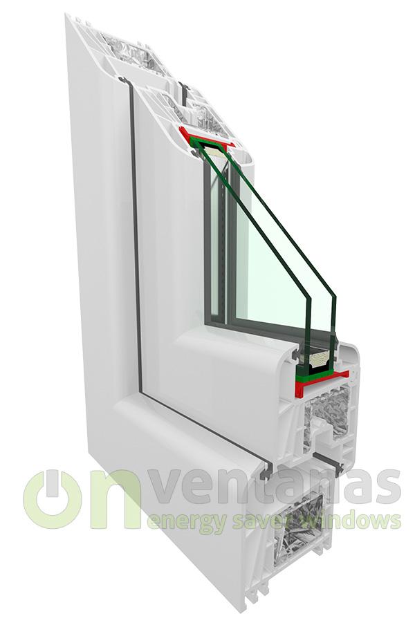 Vycer ventanas y cerramientos de pvc en cantabria - Precio ventanas pvc kommerling ...
