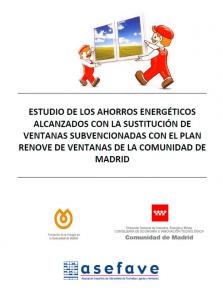 estudio ahorro energia cambio ventanas Comunidad Madrid