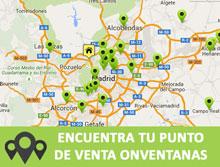 mapa punto venta onventanas