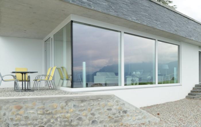 porche exterior ventanas