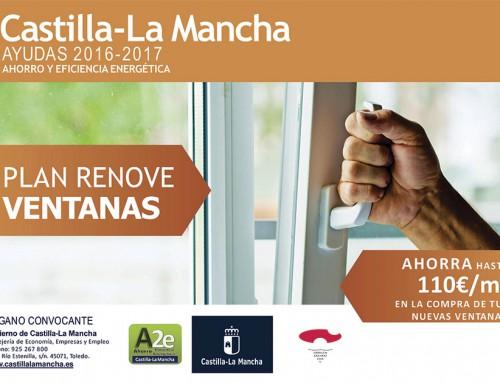 Plan Renove Ventanas Castilla La Mancha