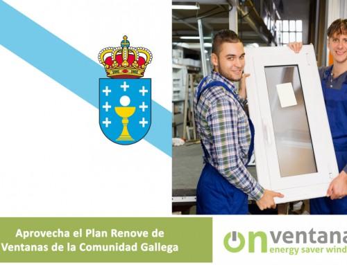 Plan Renove ventanas en Galicia