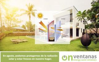 radiación solar verano