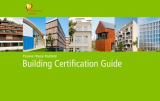 Portada Guía Certificación de Edificios
