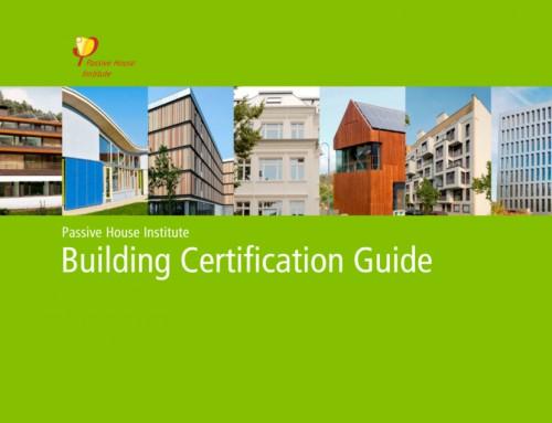 Nueva guía certificación de edificios