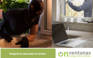 Asegura casa ventanas