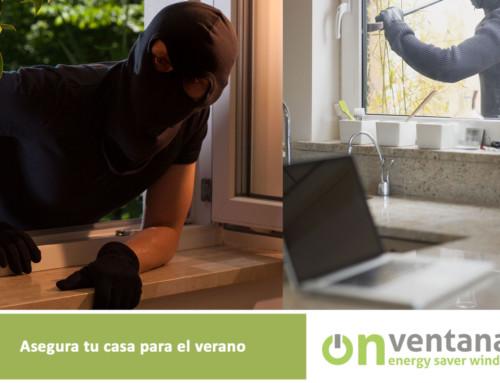 Asegura tus ventanas en el verano
