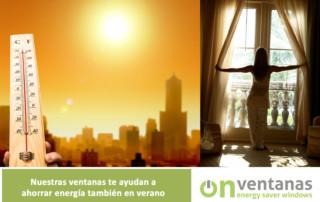 ventanas ahorro energia verano