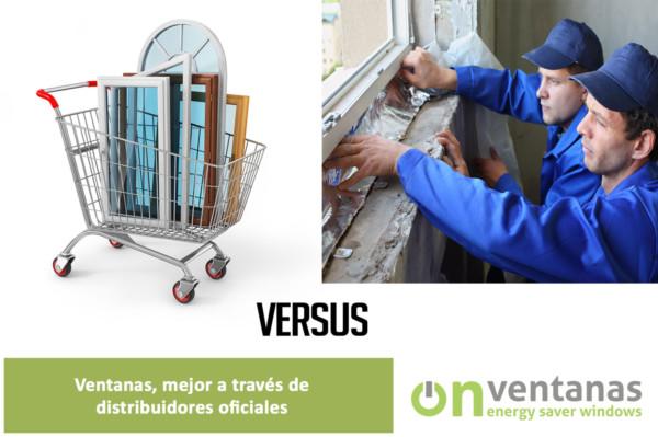 ventanas mejor a través de distribuidores oficiales
