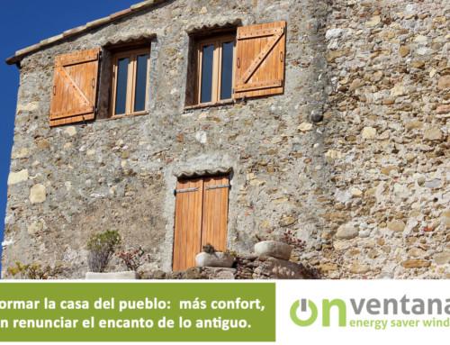 Cambiar ventanas en la casa del pueblo