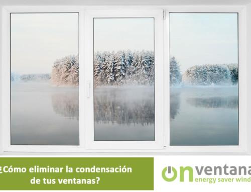 Condensación ventanas. ¿Cómo reducirla o eliminarla?