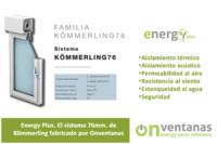Ventana 76mm Energy Plus