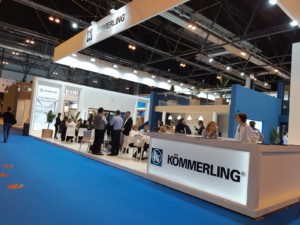 Kömmerling stand Veteco 2018