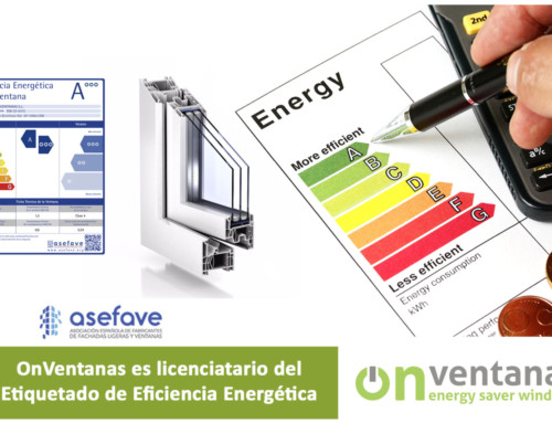 OnVentanas licenciatario Etiquetado de Eficiencia Energética de Ventanas
