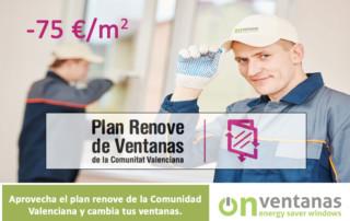 Renove ventanas Comunidad Valenciana 2019