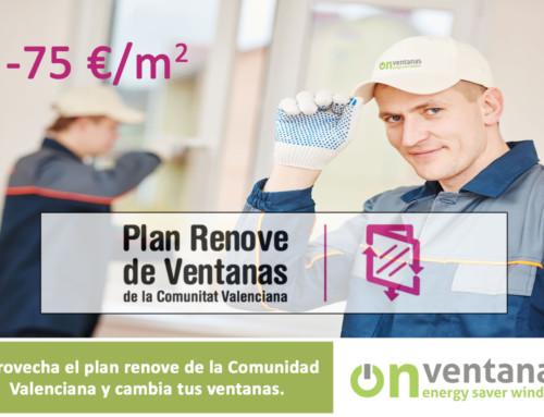 Plan renove ventanas Valencia 2019