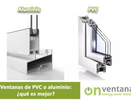 Ventanas de PVC o Aluminio: ¿qué es mejor?