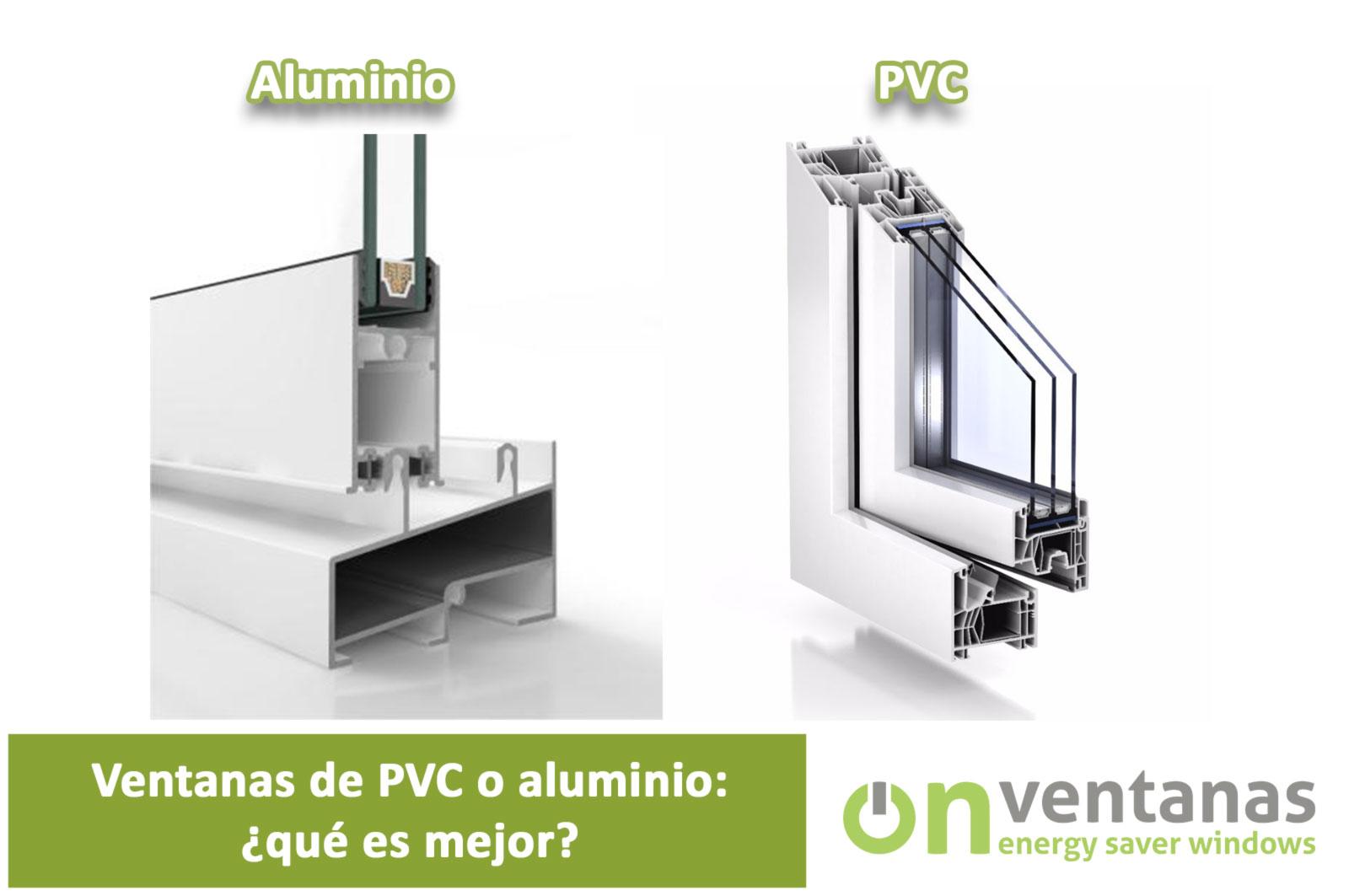 Ventanas pvc o aluminio: ¿Qué es mejor?