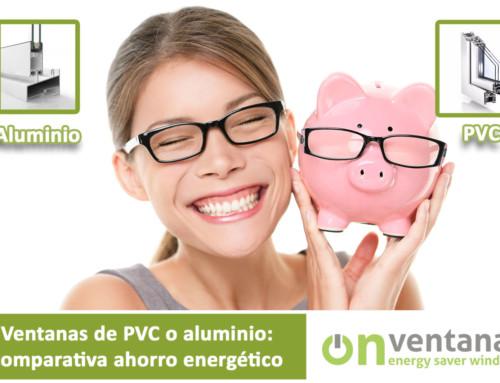 Ventanas de PVC o Aluminio: ahorro energético