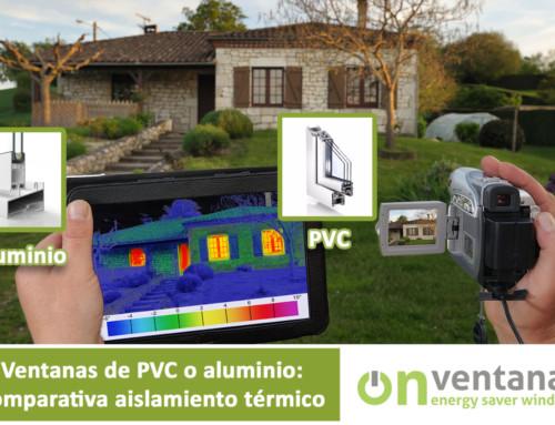 Ventanas de PVC o Aluminio: comparativa aislamiento térmico