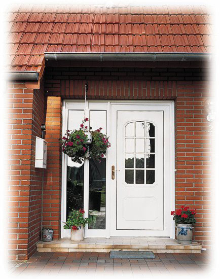 puerta entrada pvc