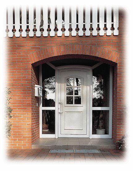 puerta entrada vidrio