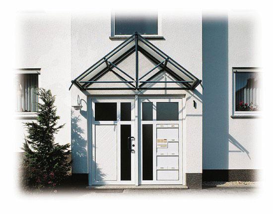 pvc puerta entrada