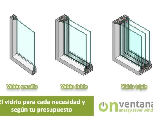 Tipos de vidrio para ventanas