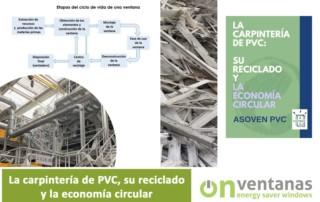 carpintería pvc reciclado economía circular