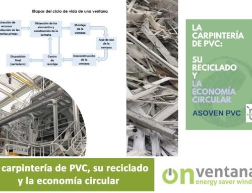 La carpintería de PVC, su reciclado y la economía circular