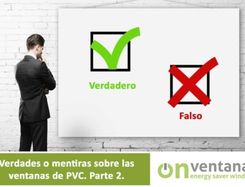 Verdades o mentiras sobre las ventanas de PVC. Parte 2