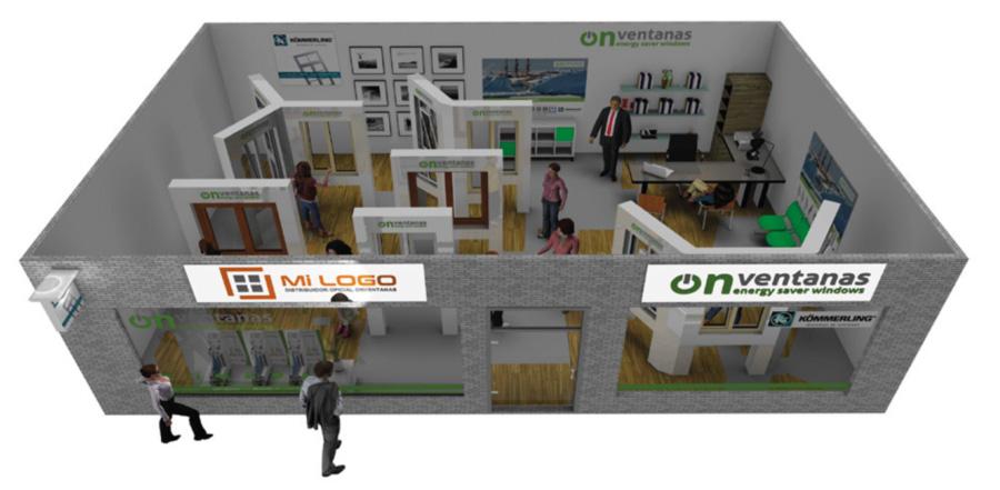 Diseño exposiciones OnVentanas