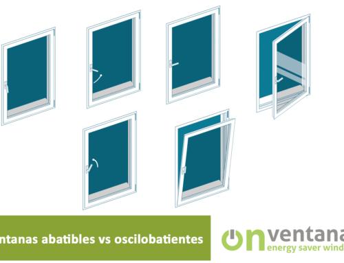 Ventanas abatible vs oscilobatiente
