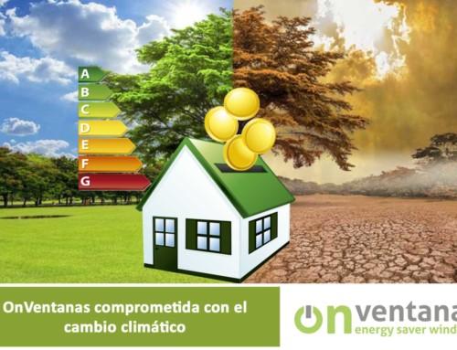 OnVentanas comprometido con el cambio climático