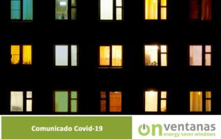 Comunicado Covid 19 OnVentanas