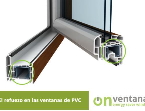 El refuerzo en las ventanas de PVC