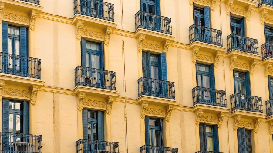 vivienda madrid balcones