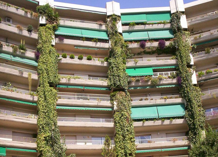 vivienda madrid terrazas