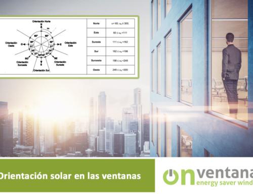 Orientaciones solares