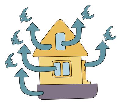 pérdidas energía ventanas