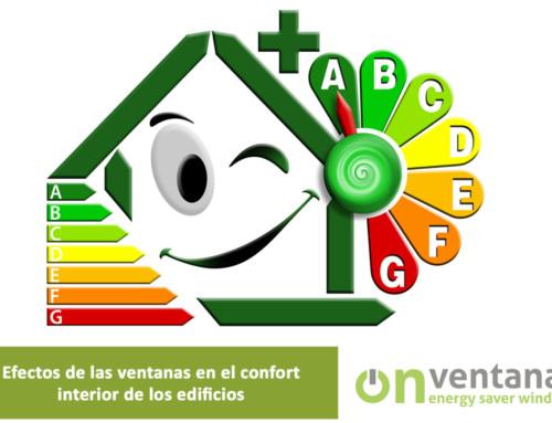 Efecto de las ventanas en el confort interior