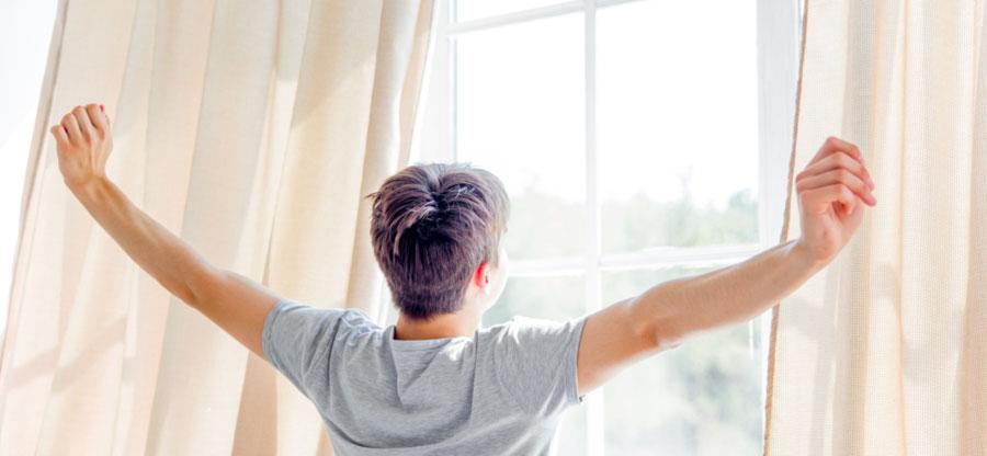 iluminación hogar ventanas