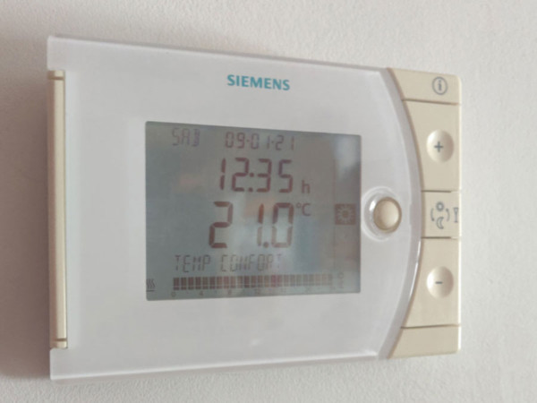 Termostato temperatura confort