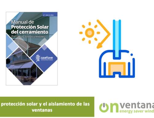 Protección solar y aislamiento de ventanas