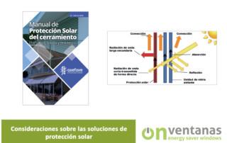 Consideraciones protección solar